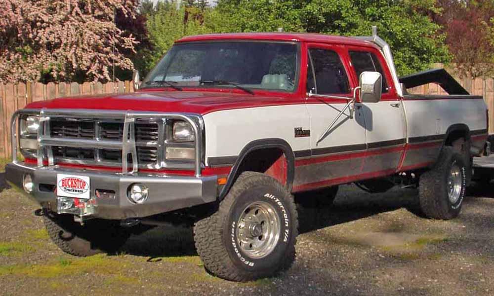 Dodge 1/2 Ton - Buckstop Truckware