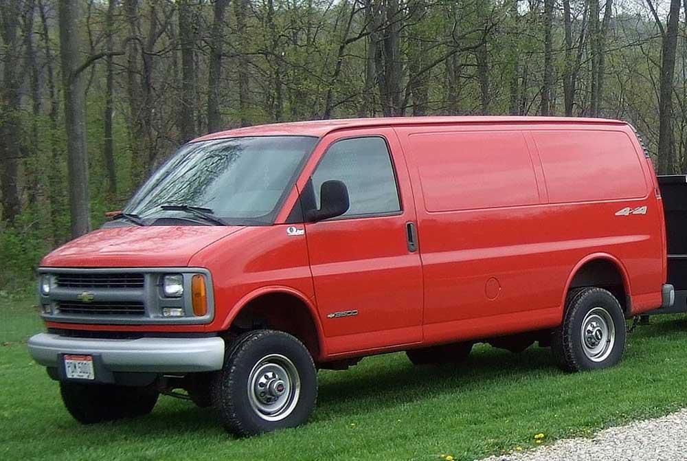 Chevrolet Van - Buckstop Truckware
